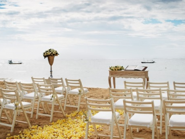 Fairmont Sanur Beach Bali Wedding Ceremony
