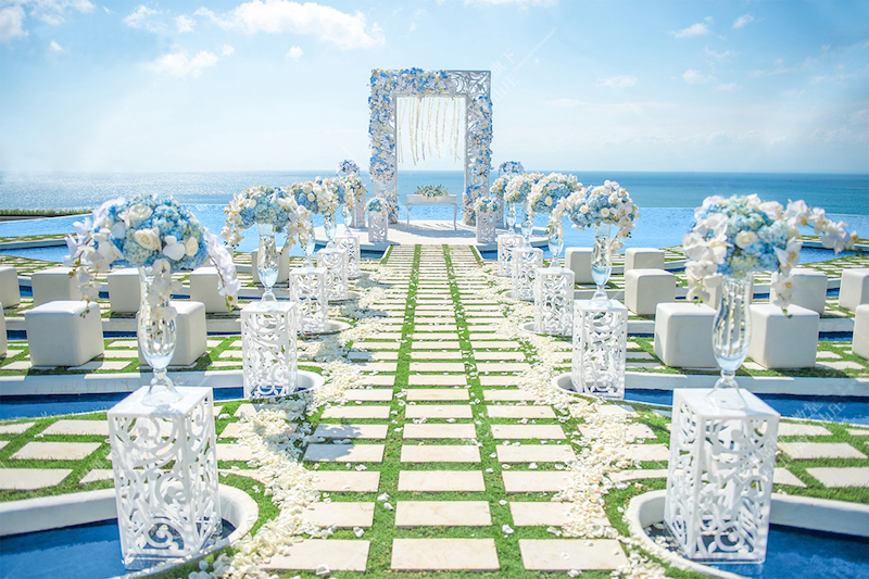 Fantasy Island Wedding Ceremony Bali
