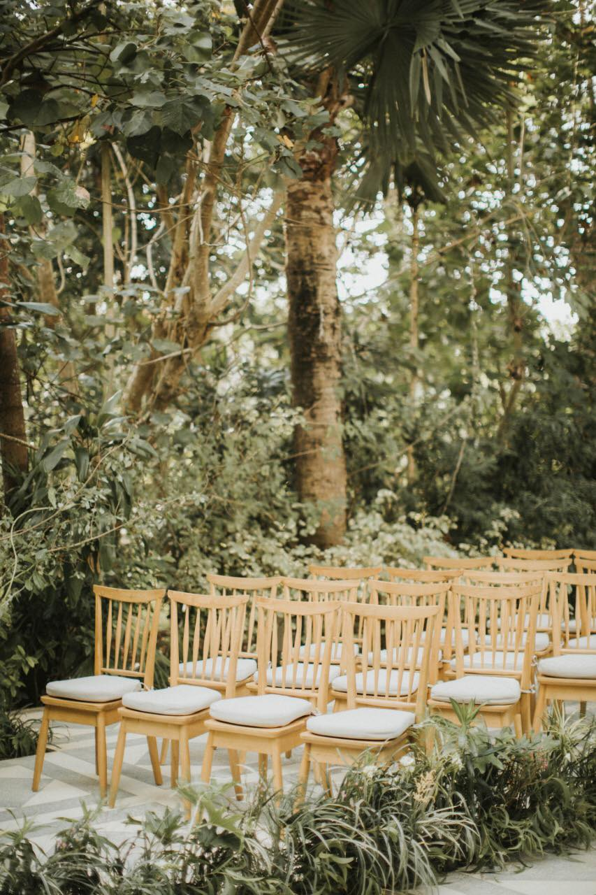 Glass House Standard Decor Ceremony Outdoor