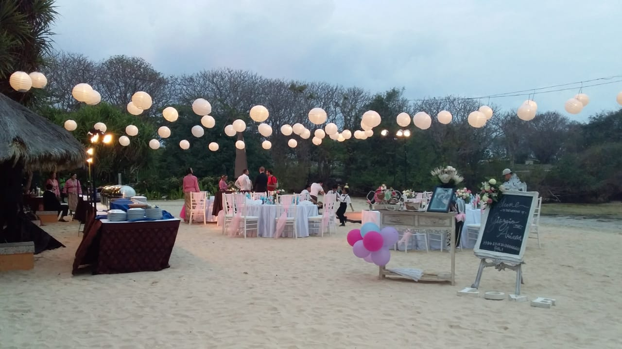 The Grand Bali Wedding Reception