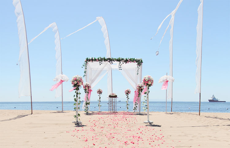The Grand Mirage Bali Beach Wedding