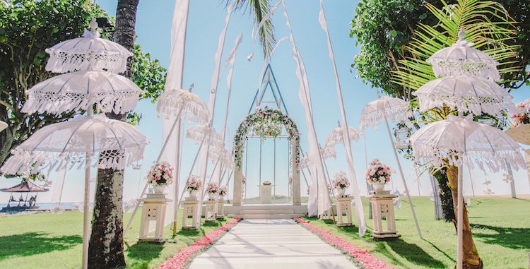 The Grand Mirage Bali Chapel Wedding