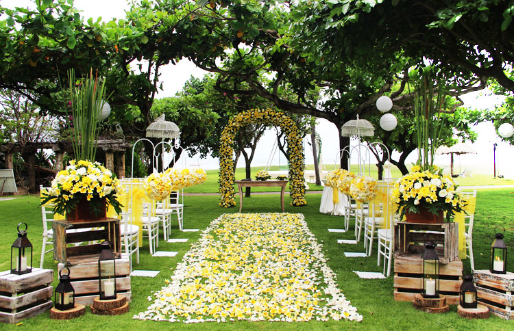 The Grand Mirage Bali Garden Wedding