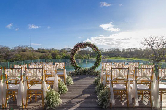 Bukit Pandawa Golf Bali Wedding Ceremony