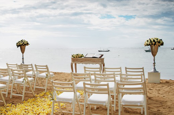 Fairmont Sanur Bali Wedding Ceremony