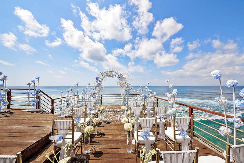 Fantasy Rock Wedding Ceremony Bali