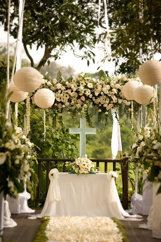 Kayumanis Ubud Wedding Ceremony