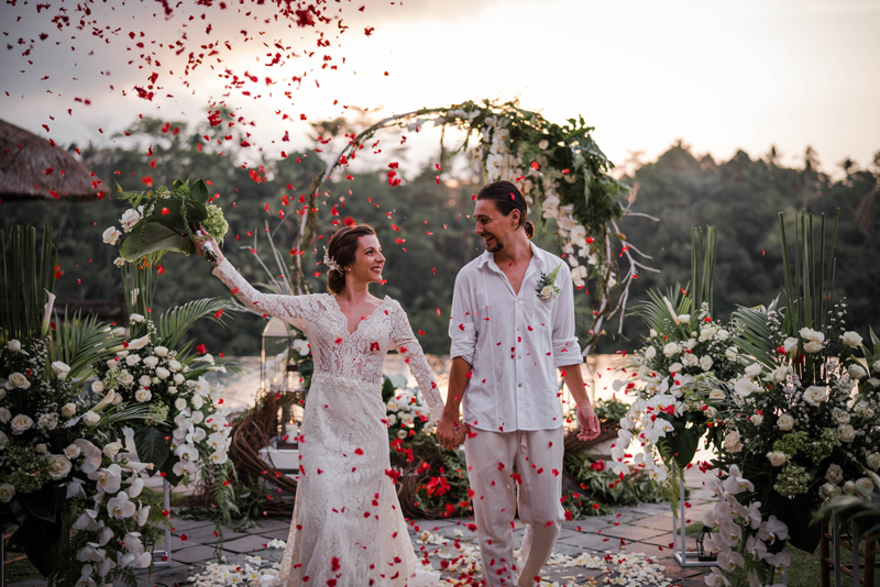 Puri Wulandari Western Wedding